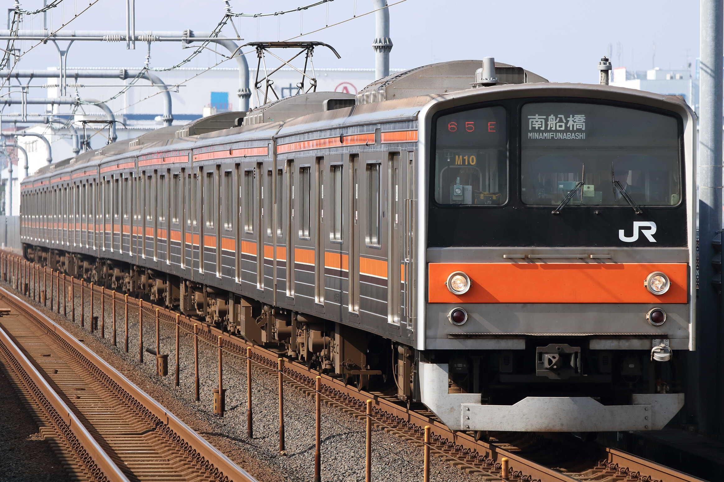 965E 205系 千ケヨM10編成