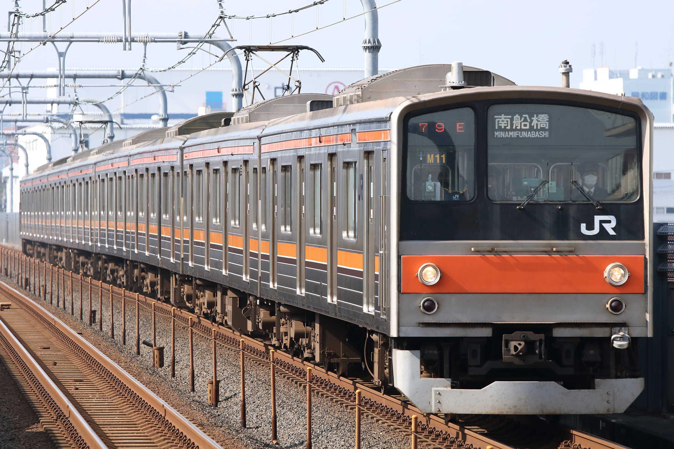 1079E 205系 千ケヨM11編成