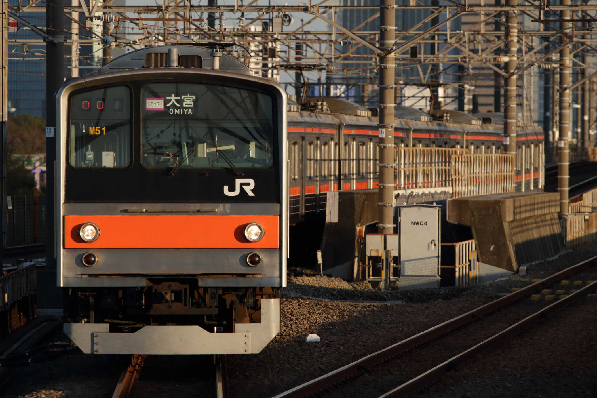 入換〜1602E 205系 千ケヨM51編成