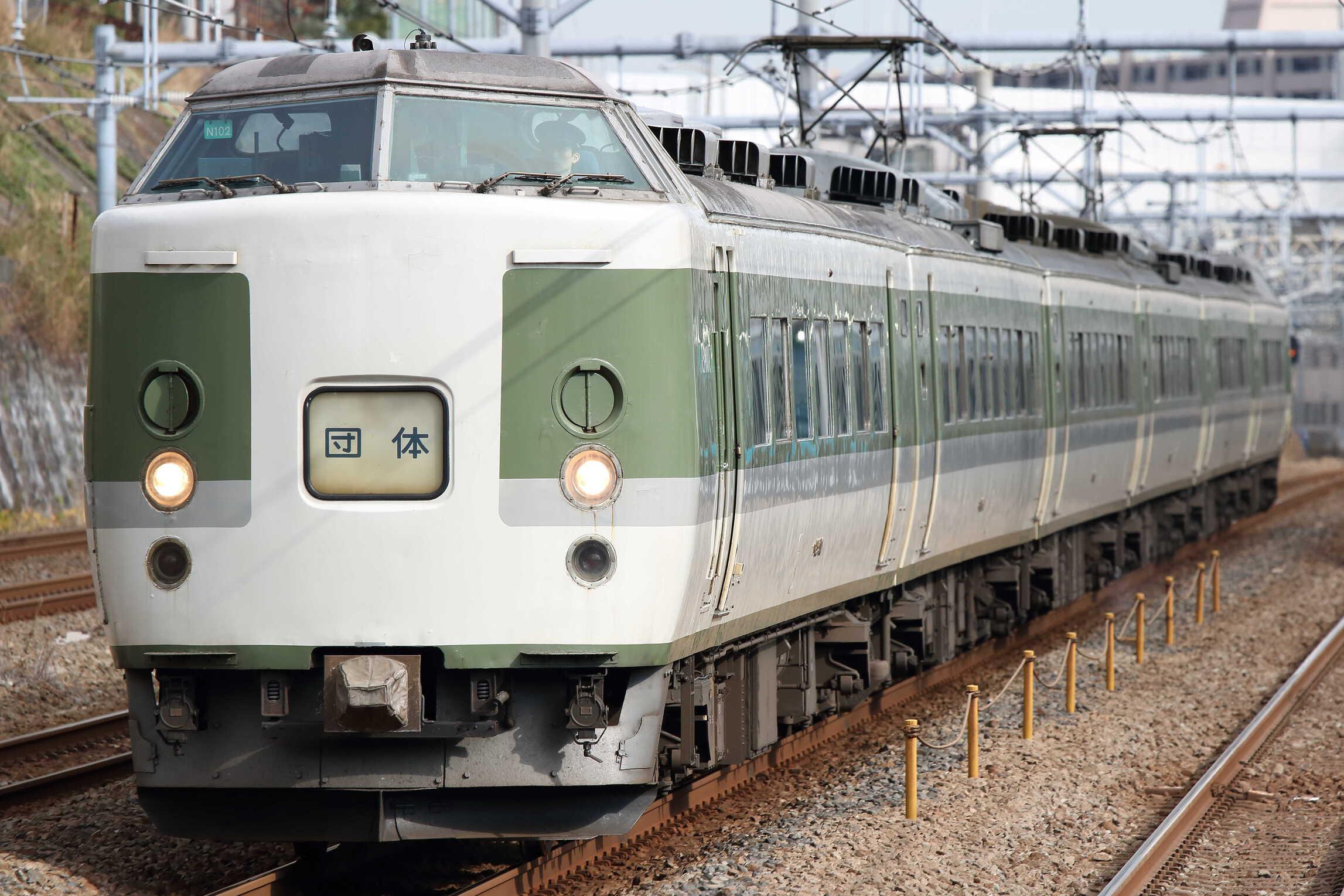 9721M 団臨(西1201, 韮崎→鎌倉) 鎌倉散策の旅 189系 長ナノN102編成