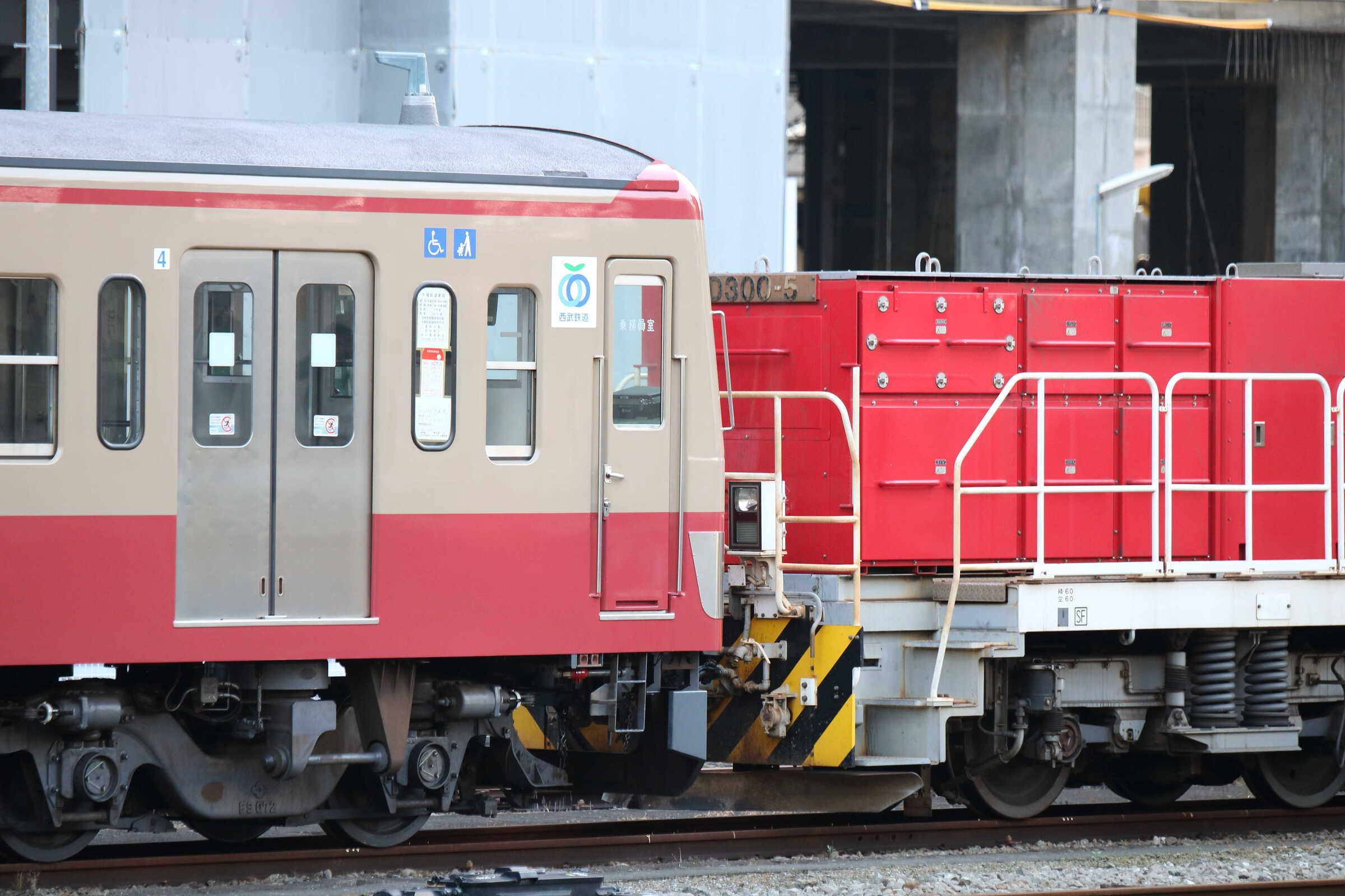 9267列車〜入換 甲222(新秋津(小手指)〜武蔵境) HD300-5[新]+西武101系 247F