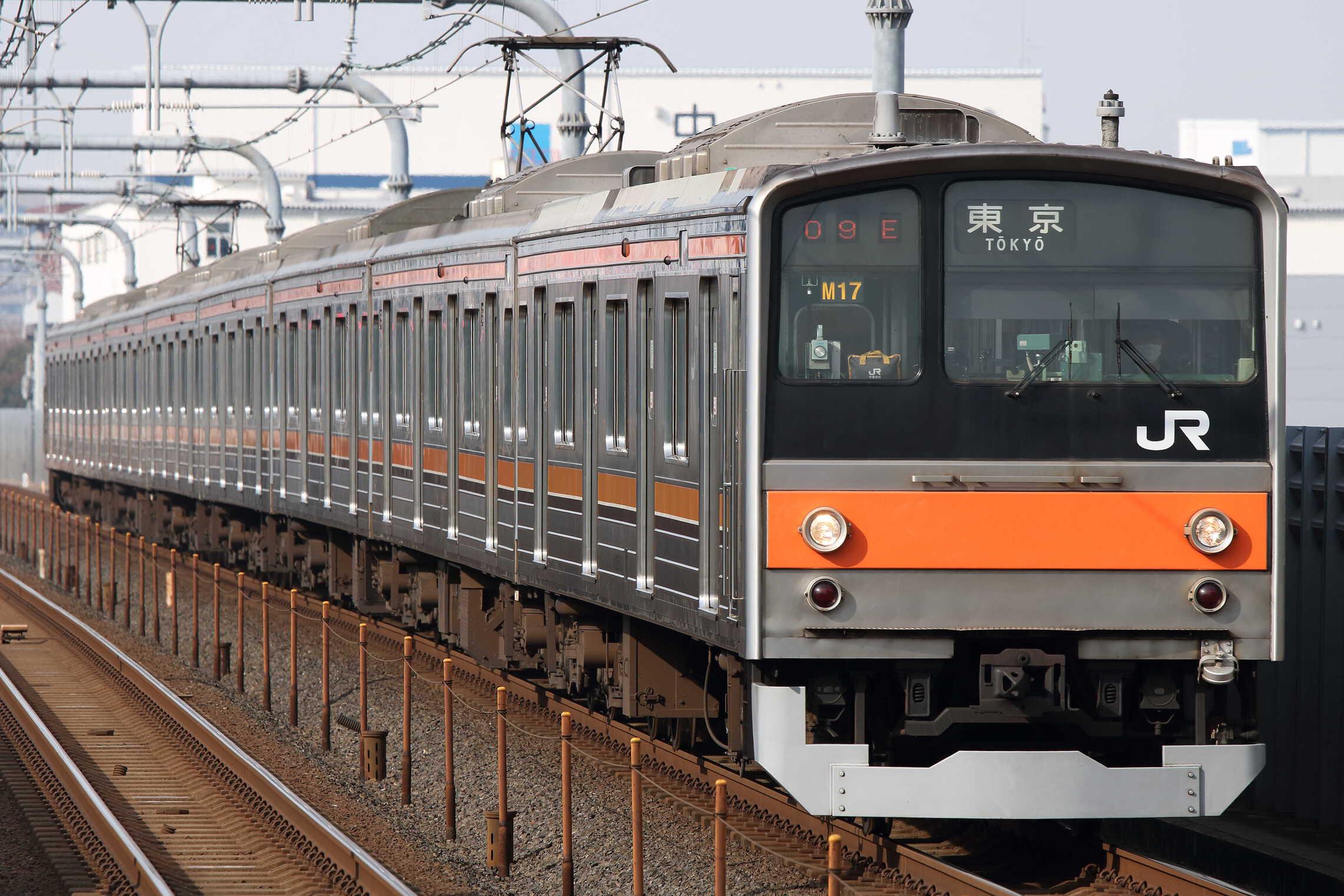 809E 205系 千ケヨM17編成