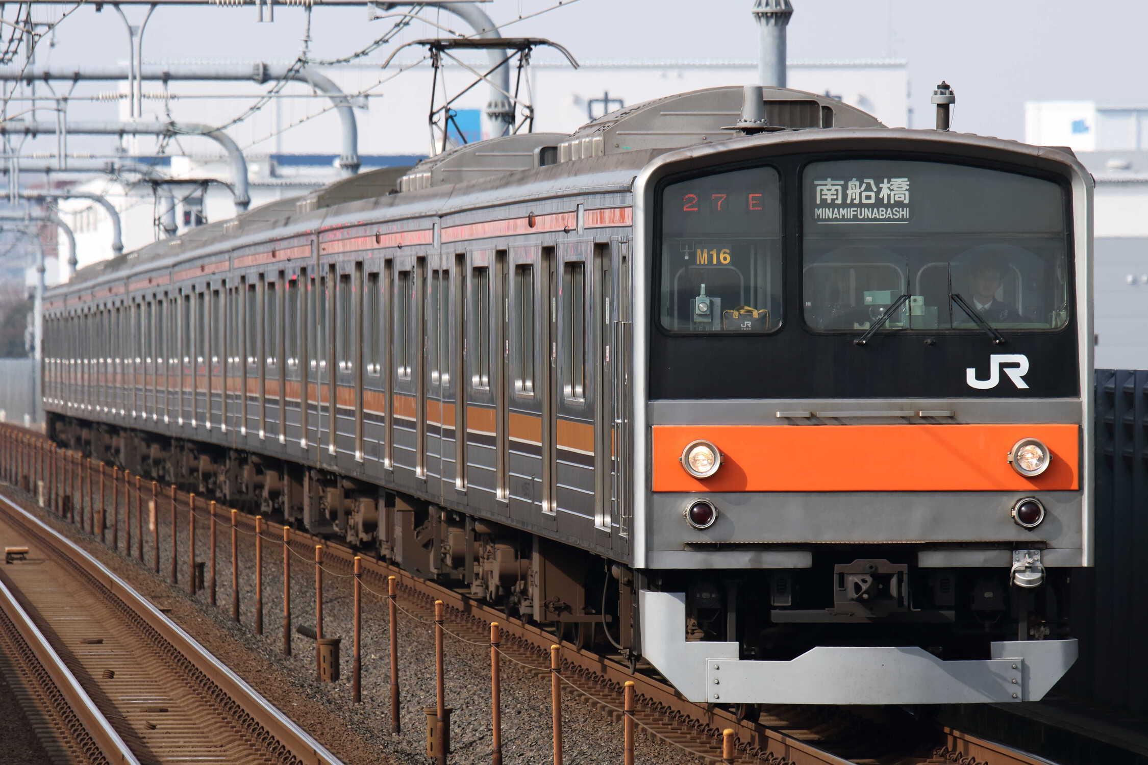 927E 205系 千ケヨM16編成