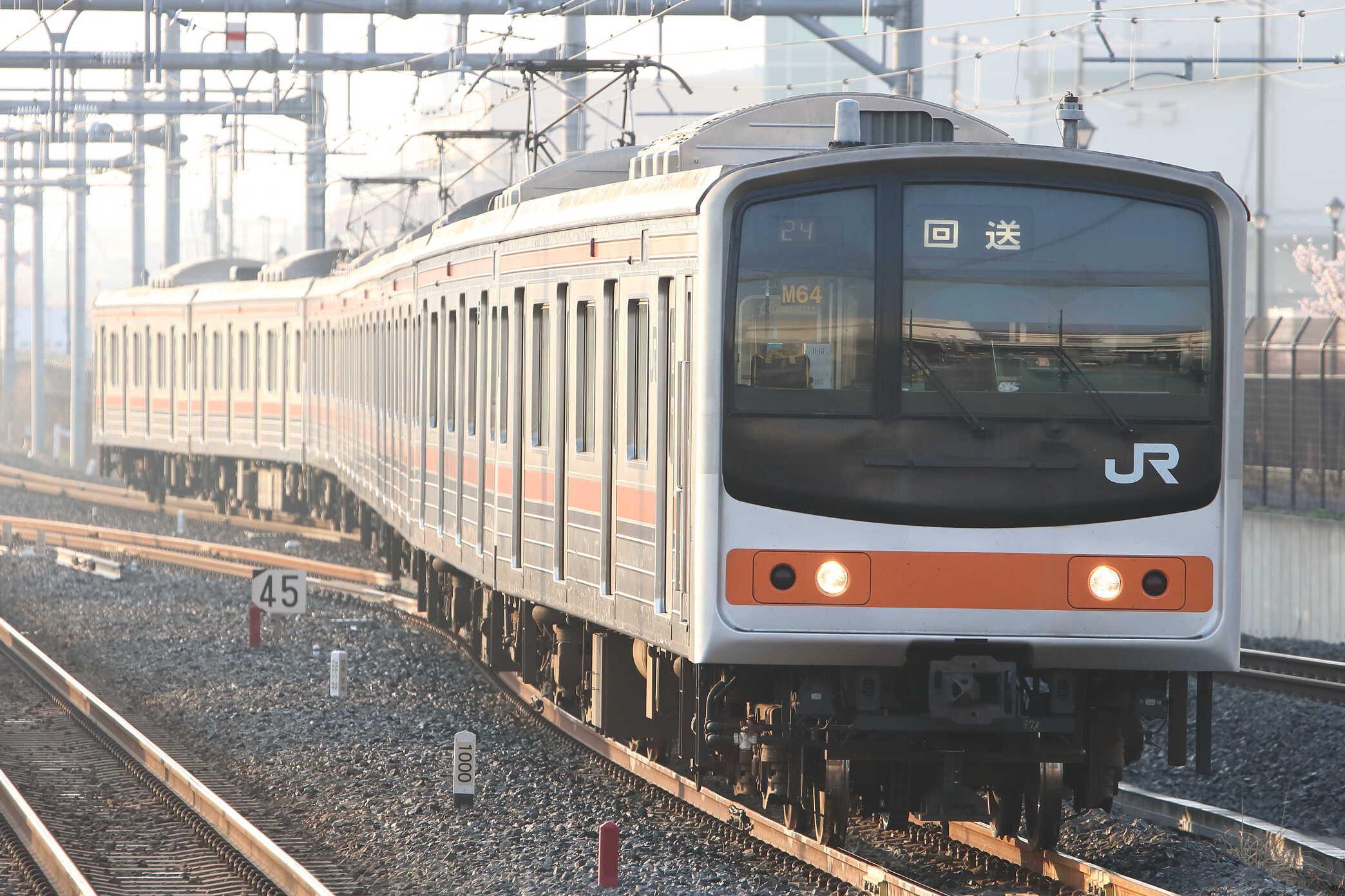 回624E〜725E 205系 千ケヨM64編成
