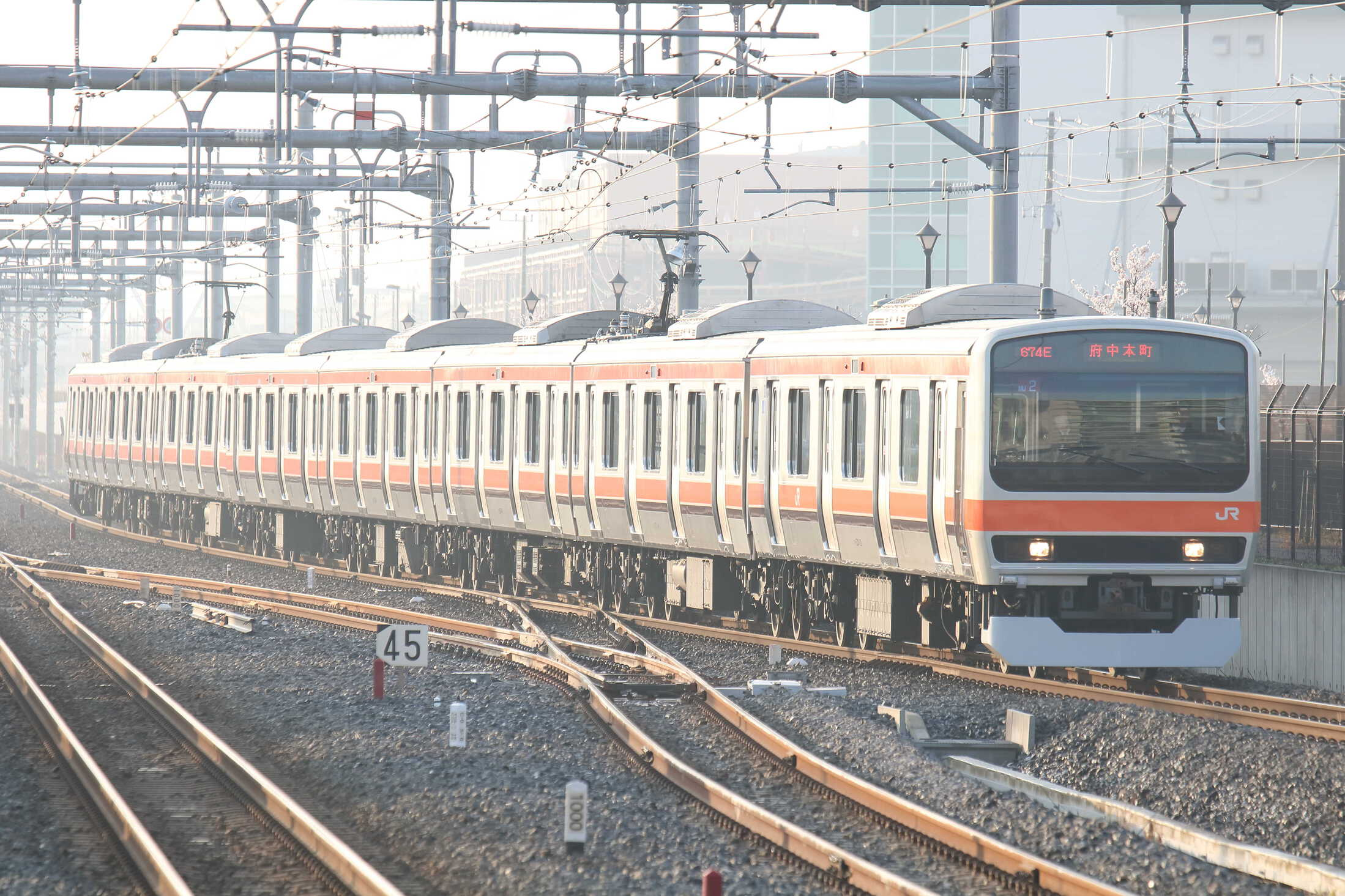 674E E231系 千ケヨMU2編成