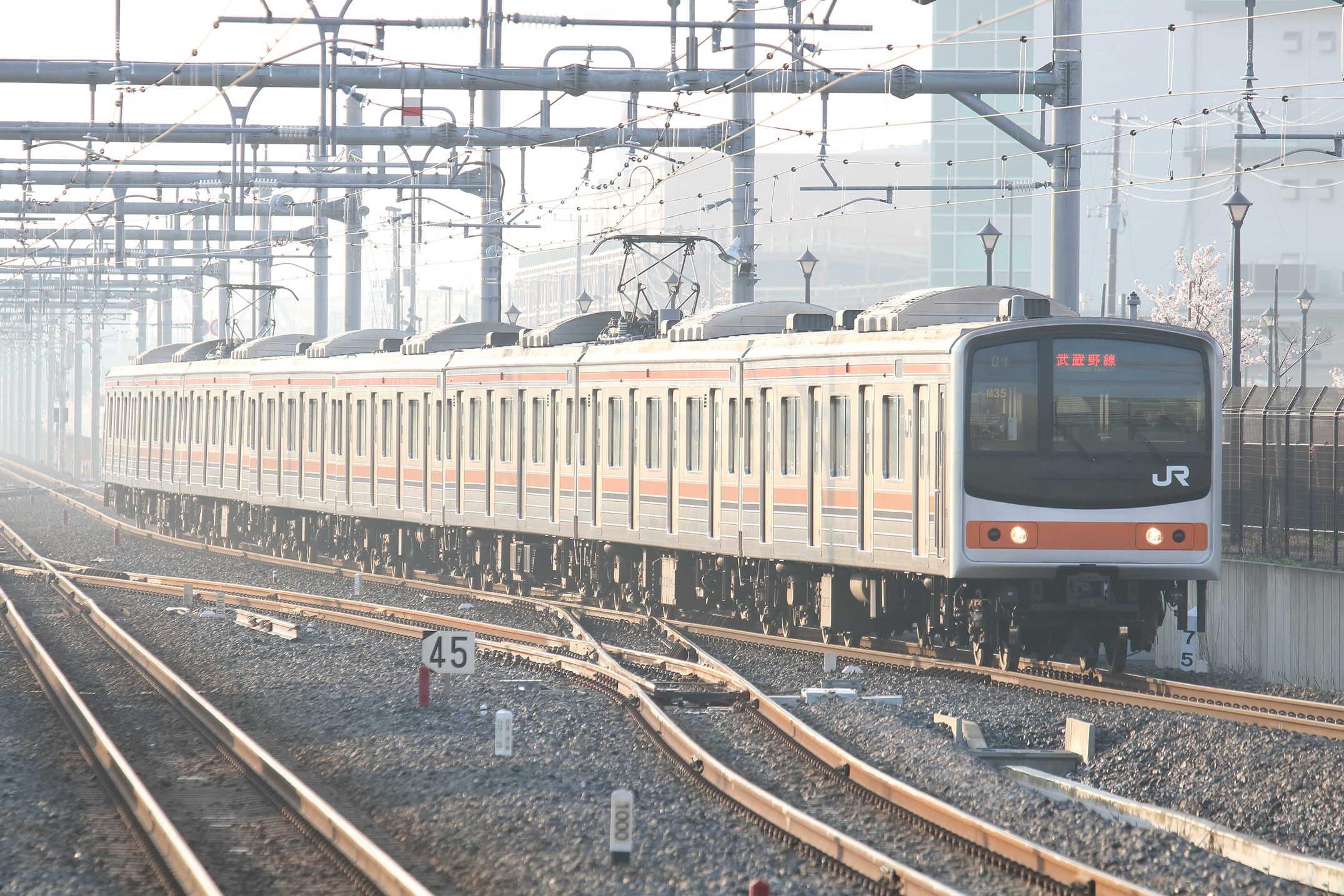 604E 205系 千ケヨM35編成