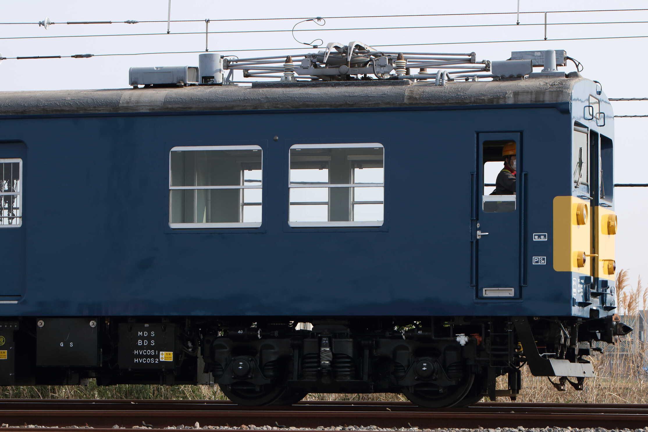川越車セ構内入換(2番→着発3→29番2区) クモヤ143-11