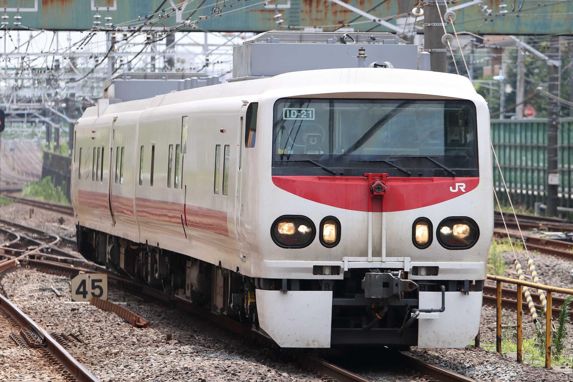 回9190D 検測車回送 キヤE193系2車(秋アキ)