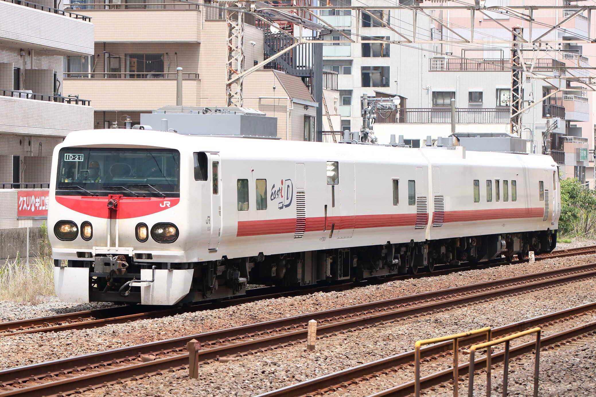 試9287D 越中島支線検測 キヤE193系2車(秋アキ)