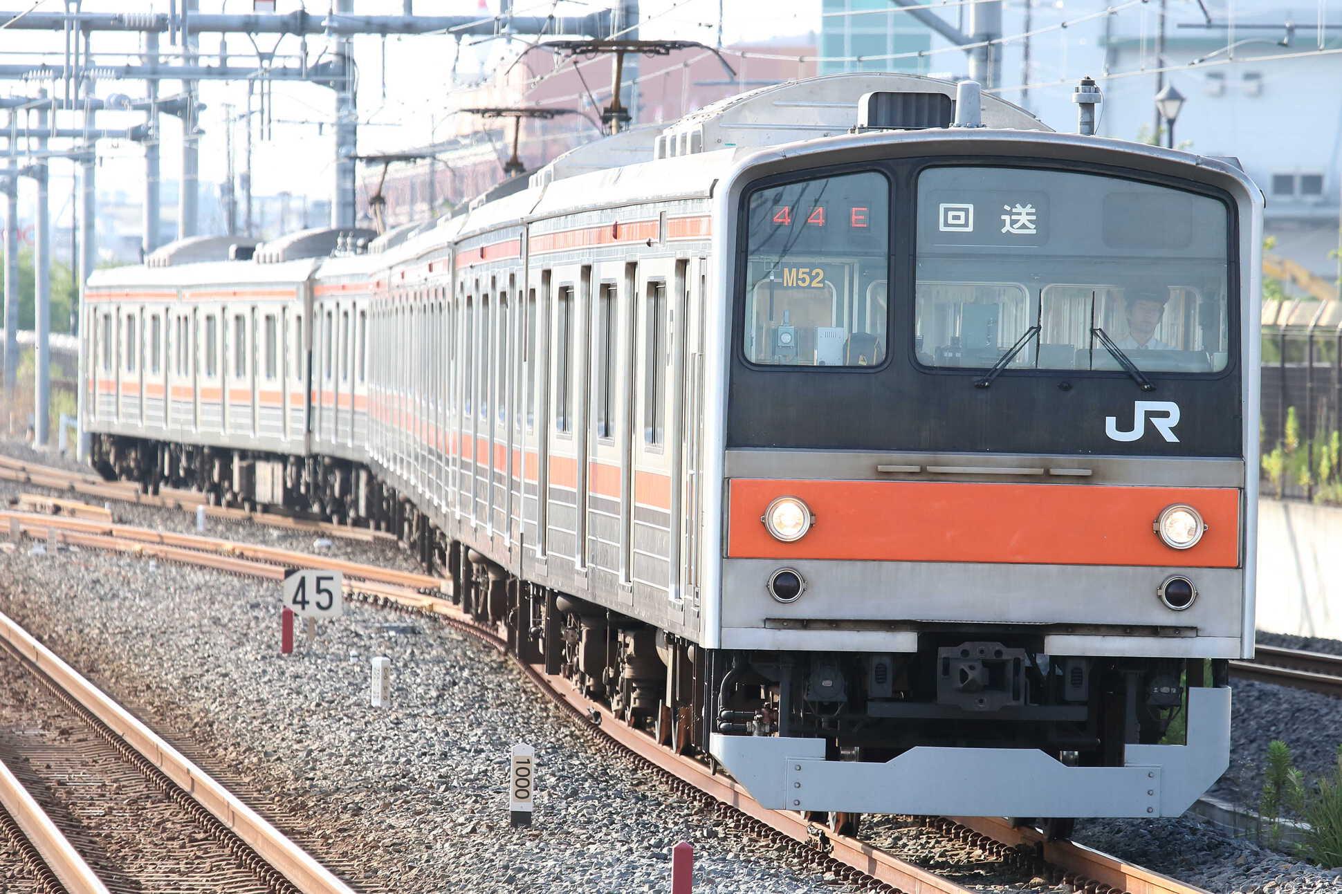 回644E 205系 千ケヨM52編成