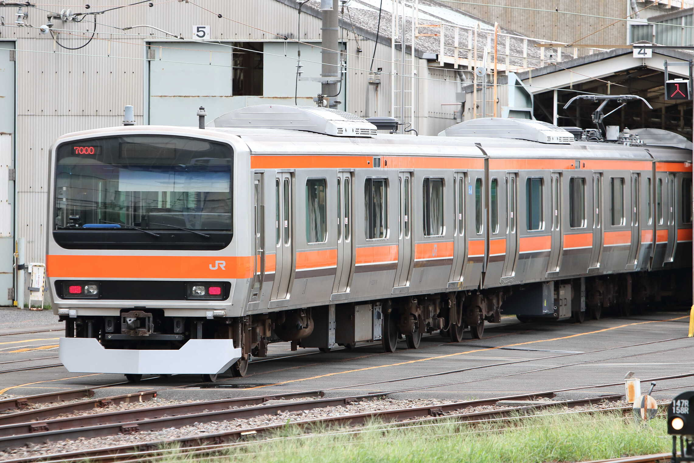 E231系 ミツ車8両