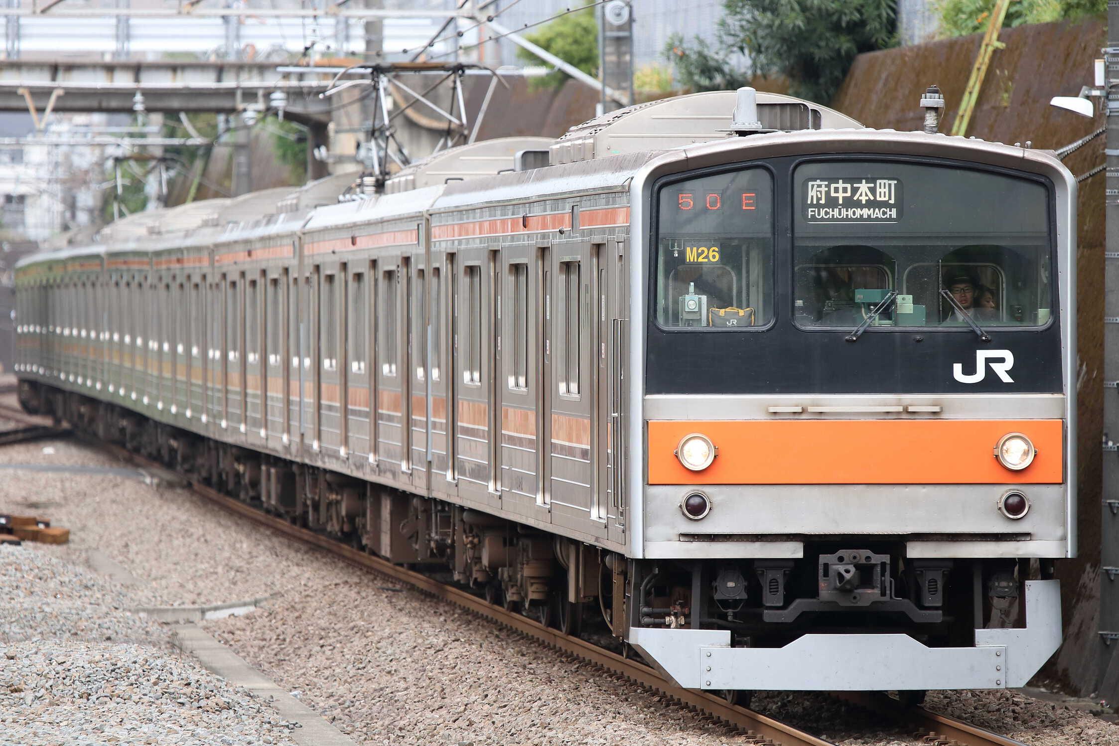 1550E 205系 千ケヨM26編成
