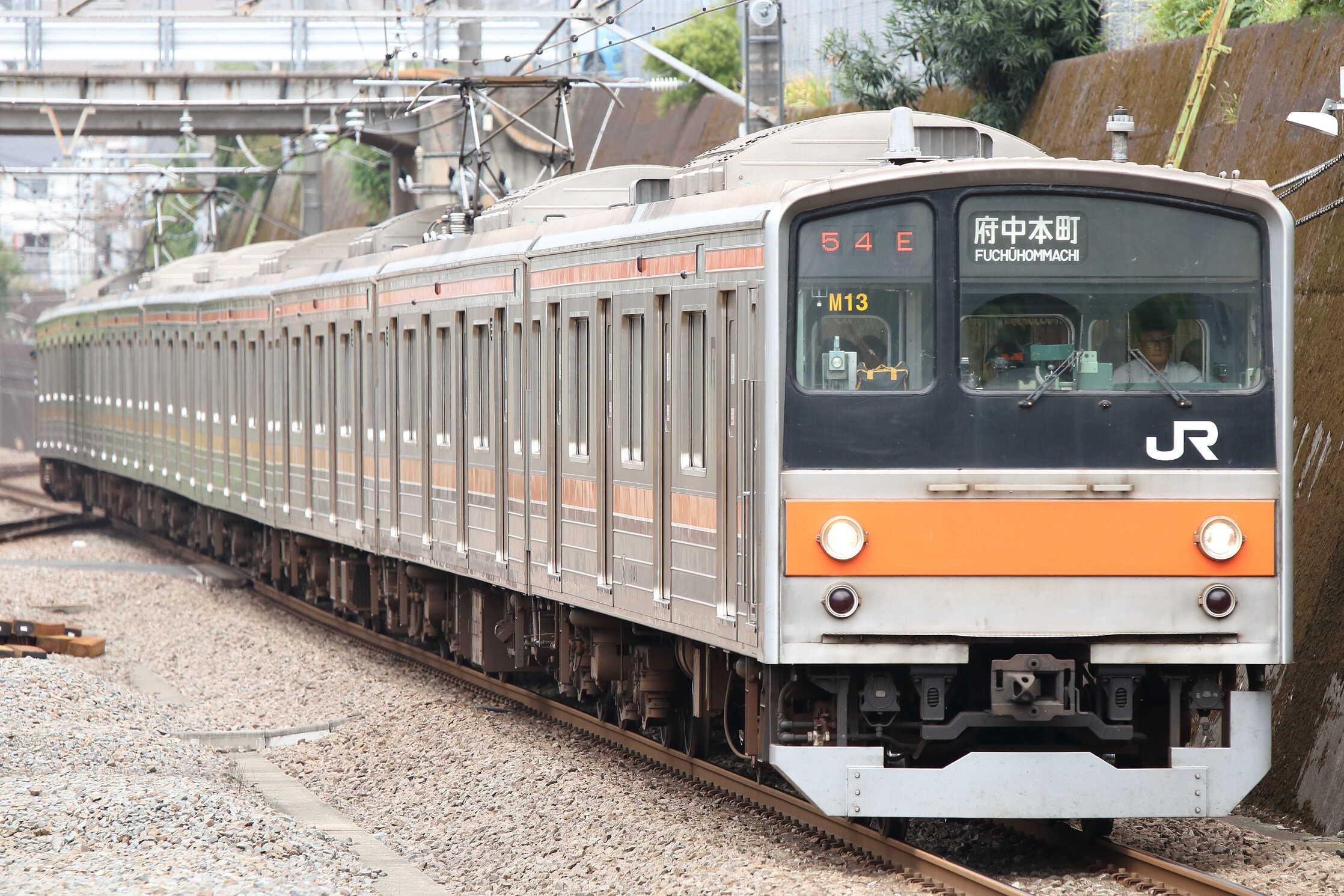 1454E 205系 千ケヨM13編成