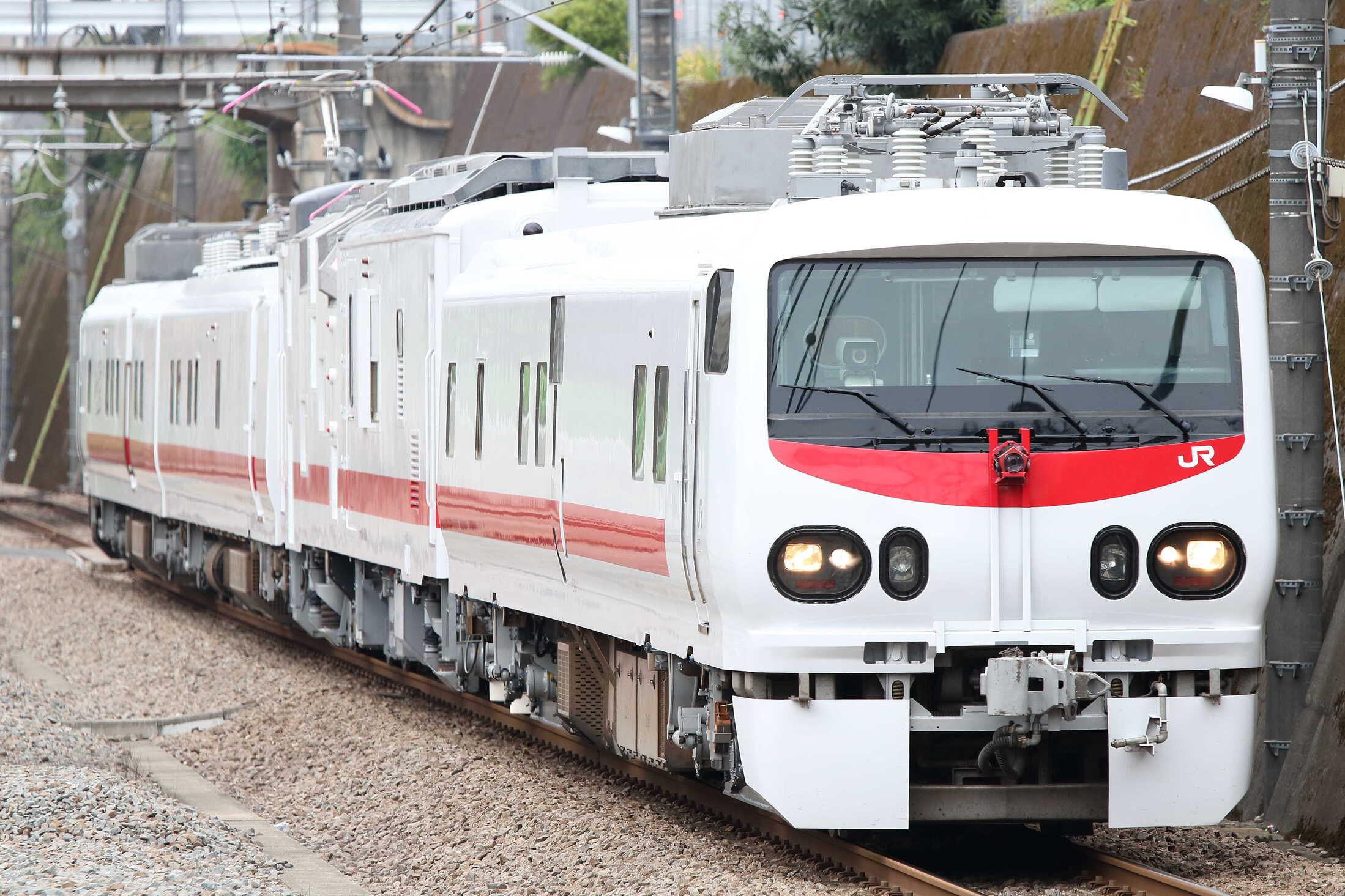 回9414M 検測車回送 E491系3車(水カツ)+マヤ50-5001(仙セン)