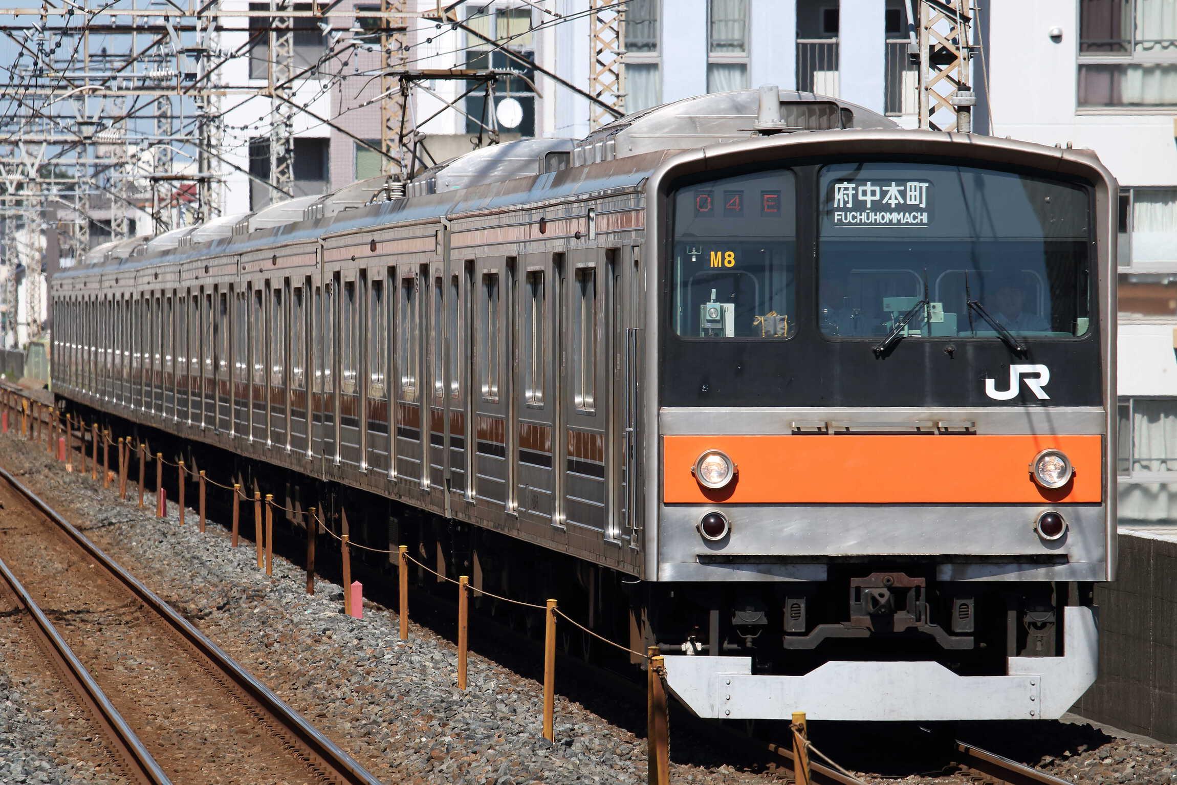 1304E 205系 千ケヨM8編成