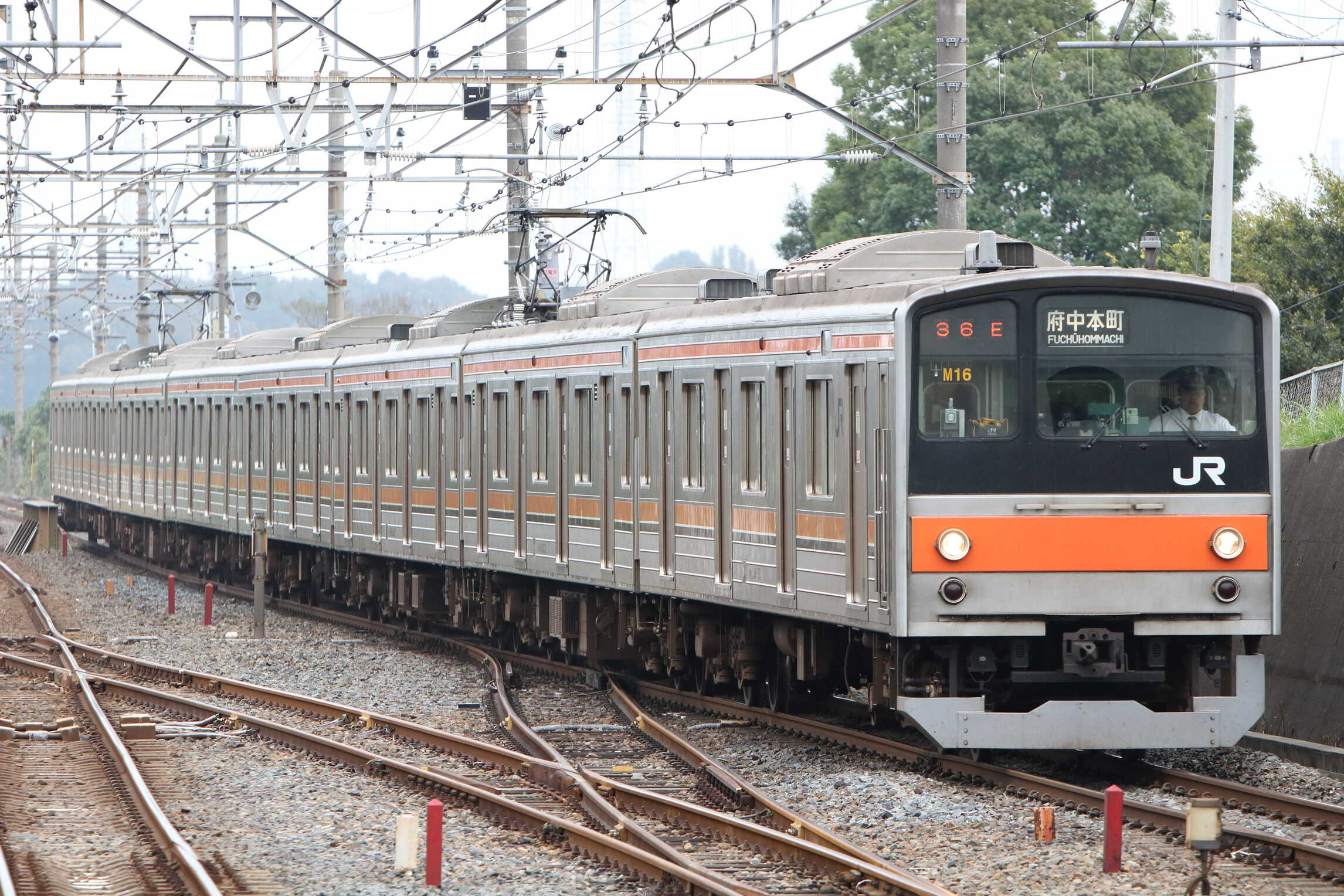 1136E 205系 千ケヨM16編成