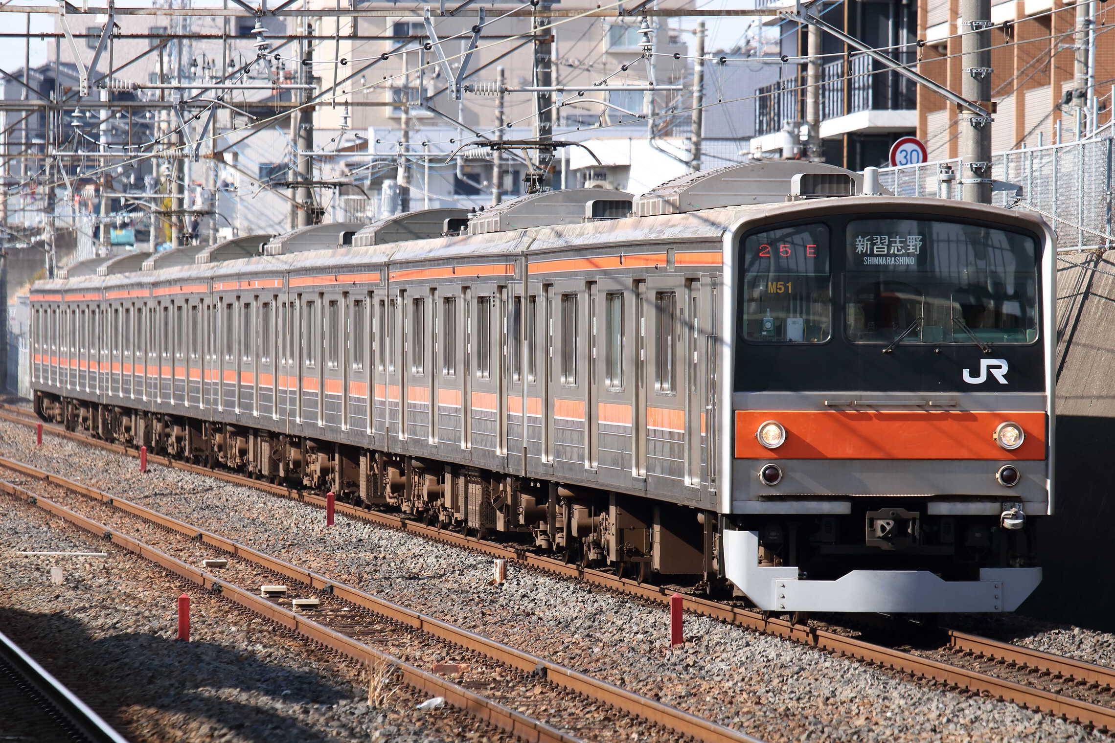 925E 205系 千ケヨM51編成