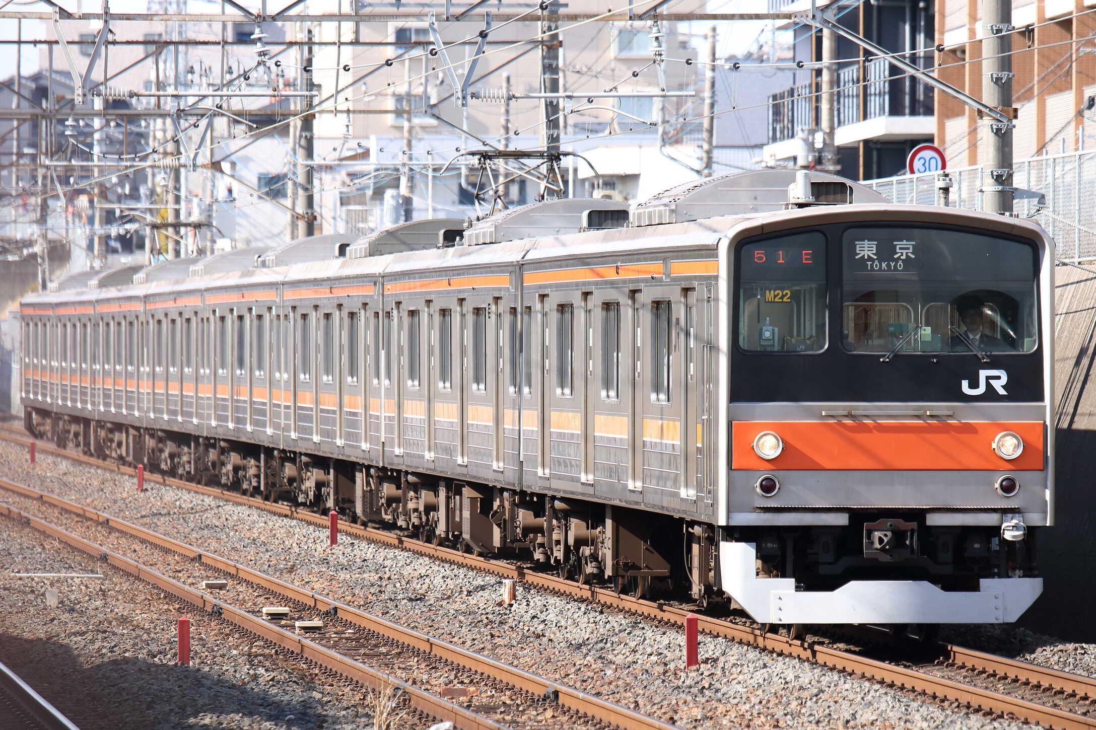 951E 205系 千ケヨM22編成