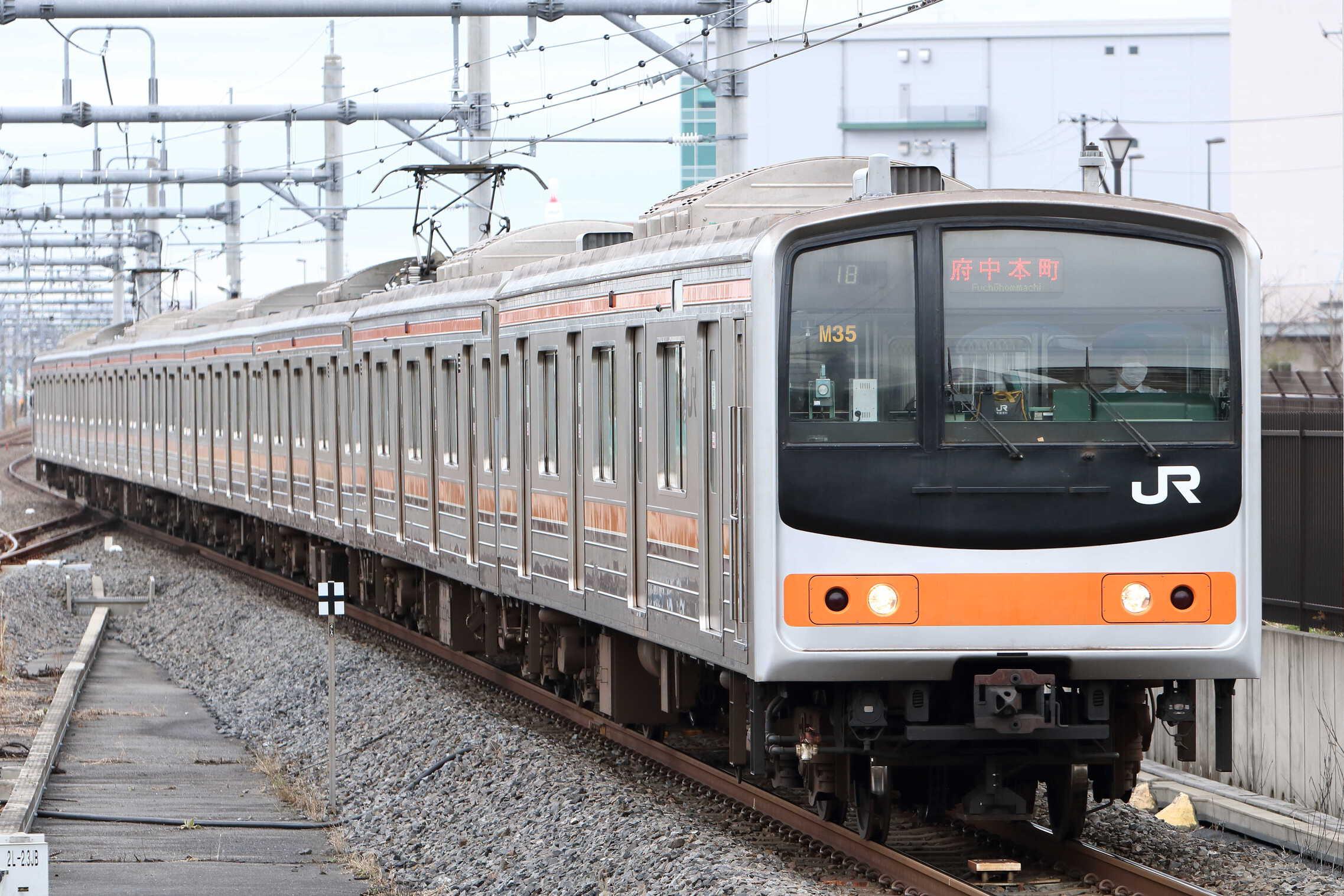 1218E 205系千ケヨM35編成